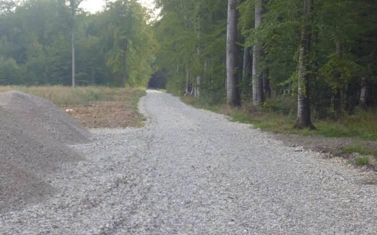 Création d'un chemin d'accès