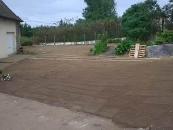 Semis de pelouse – avant